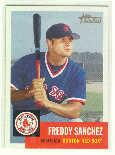 Photo of 2002 Topps Heritage #158 Freddy Sanchez RC