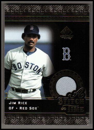 Photo of 2007 SP Legendary Cuts A Stitch in Time Memorabilia #JR Jim Rice