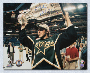 Mike Modano Dallas Stars Autographed 1999 Stanley Cup 16x20 Photo