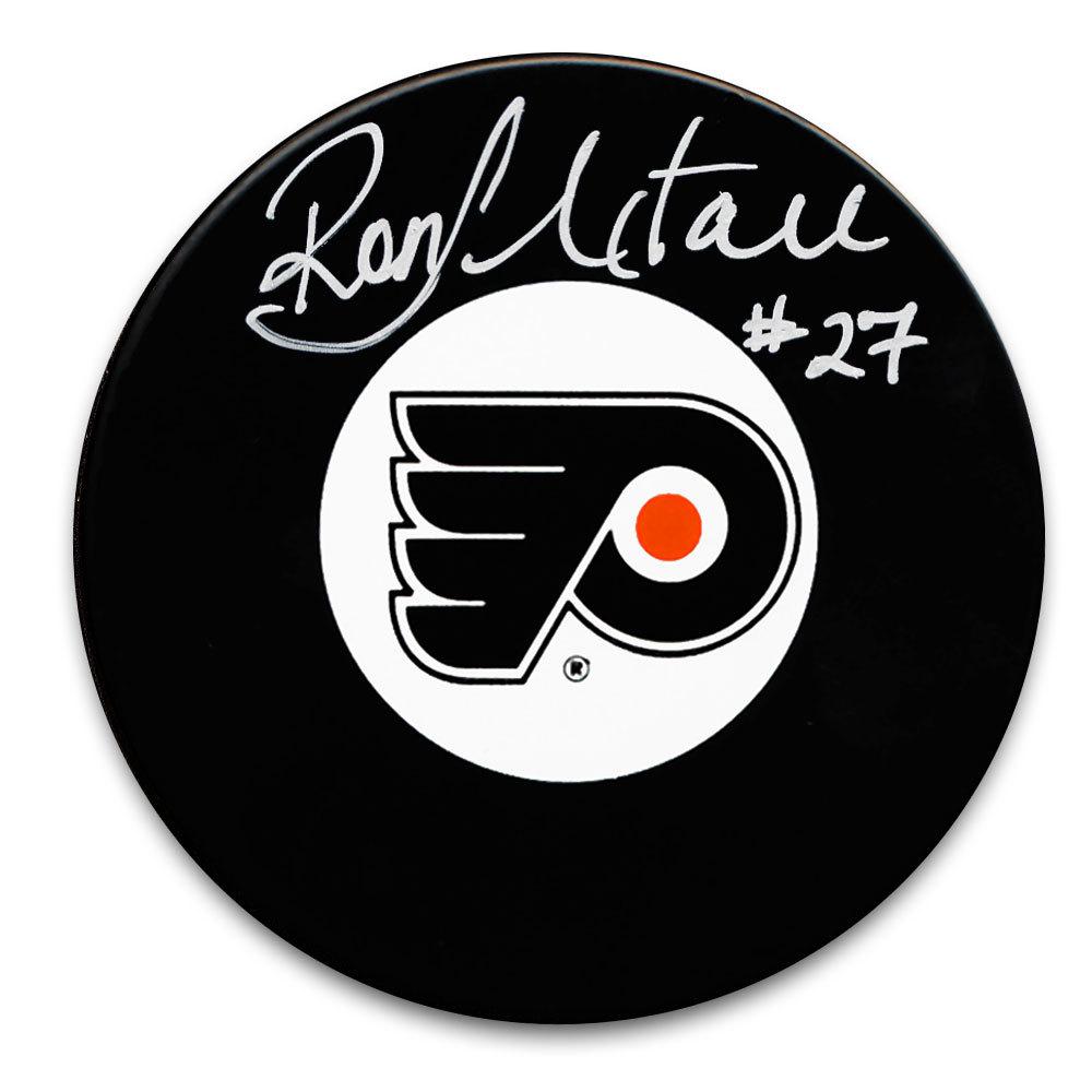 Ron Hextall Philadelphia Flyers Autographed Puck