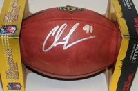 RAMS - CHRIS LONG SIGNED AUTHENTIC FOOTBALL