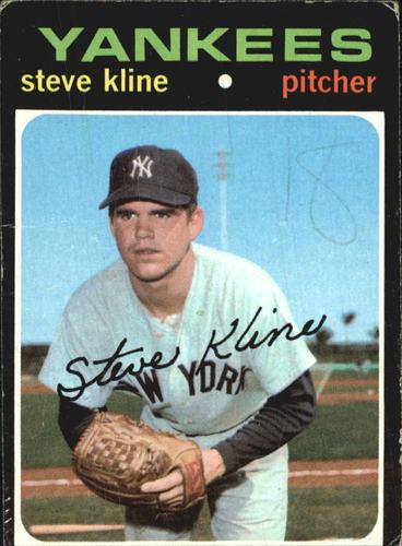 Photo of 1971 Topps #51 Steve Kline RC