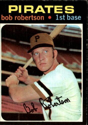 Photo of 1971 Topps #255 Bob Robertson