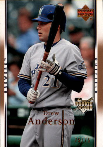 Photo of 2007 Upper Deck Gold #24 Drew Anderson /75