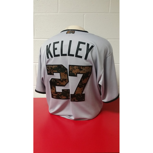 Game-Used Jersey - Shawn Kelley