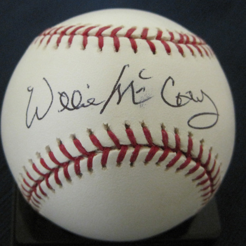 UMPS CARE AUCTION: Willie McCovey Signed Baseball