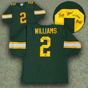 Gizmo Williams Edmonton Eskimos Autographed Custom CFL Football Jersey