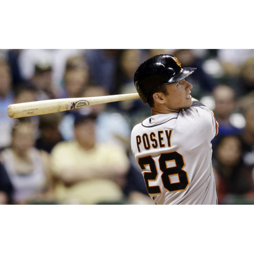 Photo of Giants KNBR Auction: Dugout Visit with Buster Posey