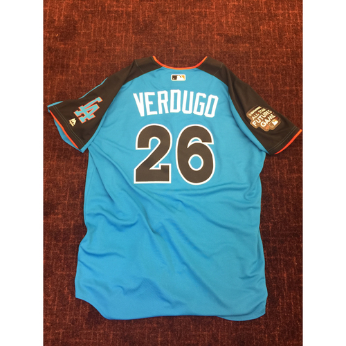 2017 All-Star Futures Game Auction: Alex Verdugo Batting Practice Used Top