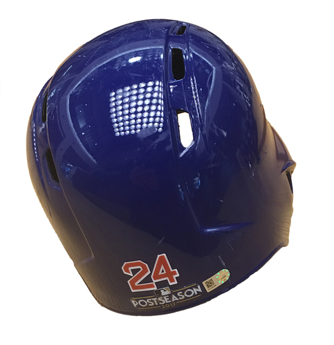 Photo of Leonys Martin 2017 Postseason Batting Helmet