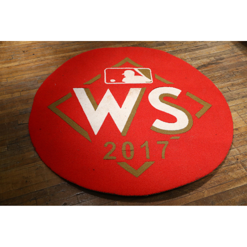2017 World Series Game-Used Dodgers On-Deck Circle: Used on Field at Dodger Stadium for Games 1, 2, 6 & 7