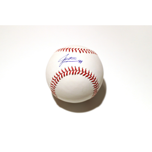 Photo of Compton Youth Academy Auction: Justin Bour Signed Baseball