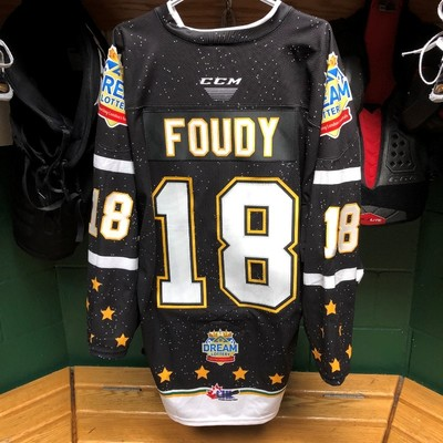 Liam Foudy Dream Lottery Jersey