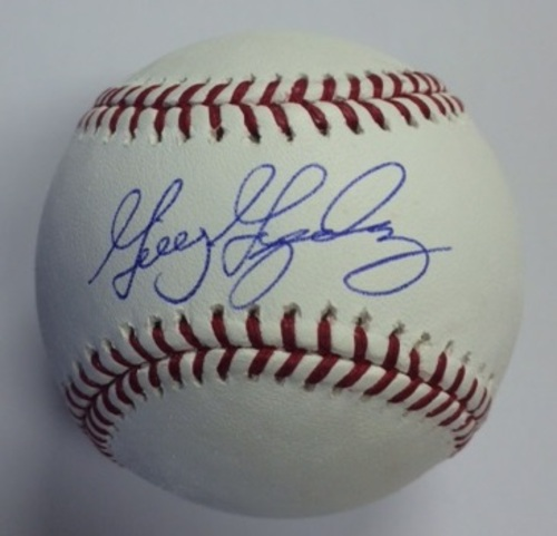 Photo of Gio Gonzalez Autographed Baseball