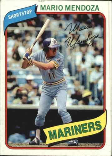 Photo of 1980 Topps #652 Mario Mendoza
