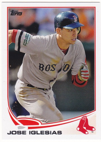 Photo of 2013 Topps #432 Jose Iglesias