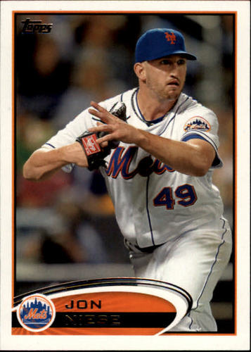 Photo of 2012 Topps #49 Jon Niese