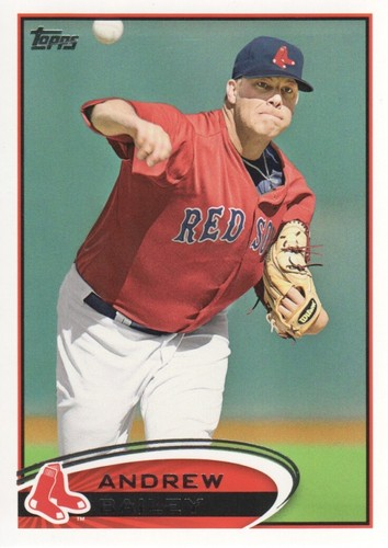 Photo of 2012 Topps #539 Andrew Bailey