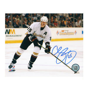 CHRIS PRONGER Signed Anaheim Ducks 8 X 10 Photo - 70412
