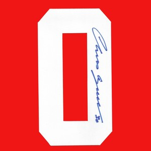 Chris Osgood Autographed Detroit Red Wings  White Twill Jersey Number