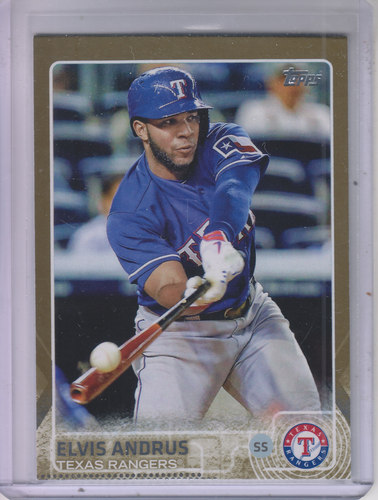 Photo of 2015 Topps Gold #281 Elvis Andrus