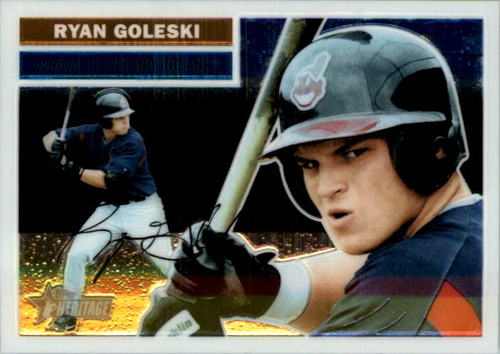 Photo of 2005 Topps Heritage Chrome #THC89 Ryan Goleski