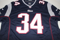 PATRIOTS - SHANE VEREEN SIGNED PATRIOTS REPLICA JERSEY - SIZE XL