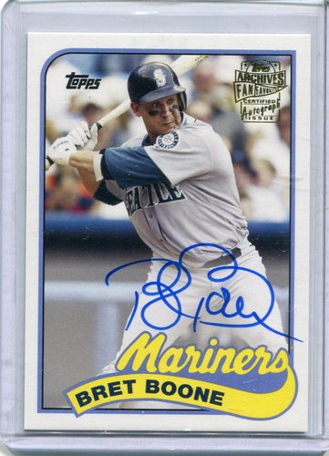 Photo of 2015 Topps Archives Fan Favorites Autographs #FFABB Bret Boone