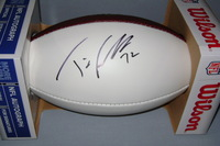 NFL - COWBOYS TRAVIS FREDERICK SIGNED PANEL BALL