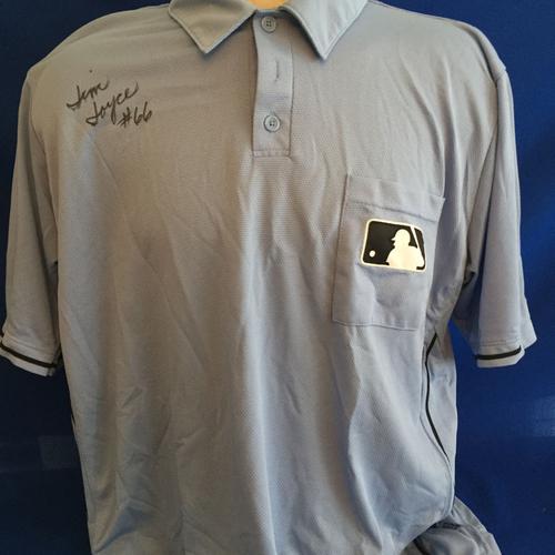Photo of UMPS CARE AUCTION: Jim Joyce Signed Umpire Jersey Size 2XL