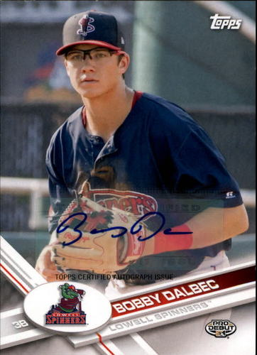 Photo of 2017 Topps Pro Debut Autographs #193 Bobby Dalbec RC AUTO