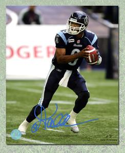 Damon Allen Toronto Argonauts Autographed 8x10 Photo