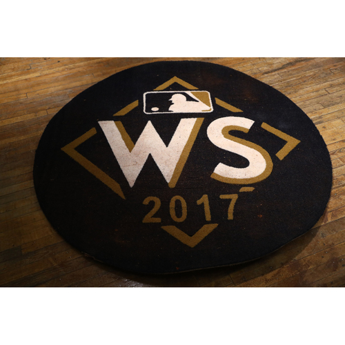 Photo of 2017 World Series Game-Used Dodgers On-Deck Circle: Used on Field at Minute Maid Park for Games 3, 4 & 5