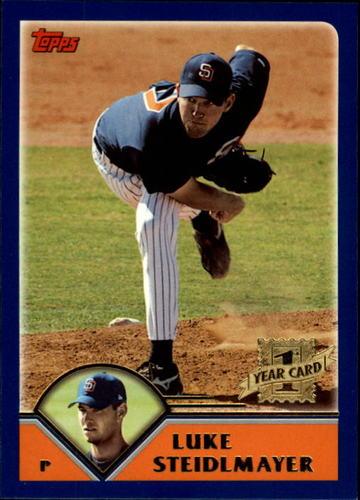 Photo of 2003 Topps Traded #T227 Luke Steidlmayer FY RC