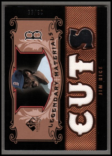 Photo of 2007 SP Legendary Cuts Legendary Materials Triple #JR2 Jim Rice/99