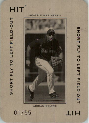 Photo of 2005 Throwback Threads Polo Grounds 55 HIT Short Fly #69 Adrian Beltre