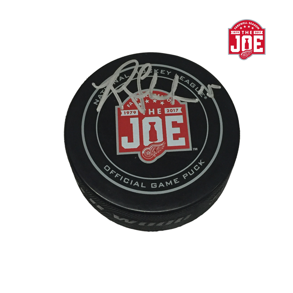RILEY SHEAHAN Signed Detroit Red Wings