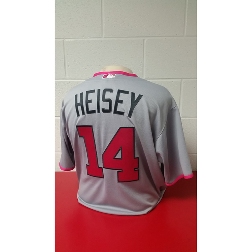 Game-Used Jersey - Chris Heisey