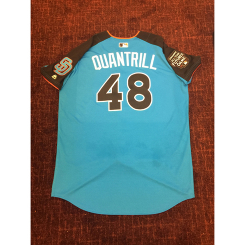 Photo of 2017 All-Star Futures Game Auction: Cal Quantrill Batting Practice Used Top