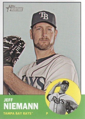 Photo of 2012 Topps Heritage #378 Jeff Niemann