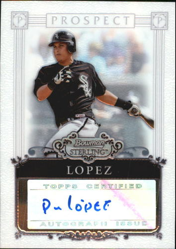 Photo of 2006 Bowman Sterling Prospects #PL Pedro Lopez AU A
