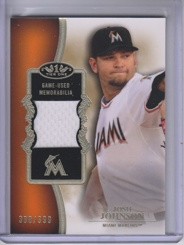 Photo of 2012 Topps Tier One Relics #JJ Josh Johnson/399