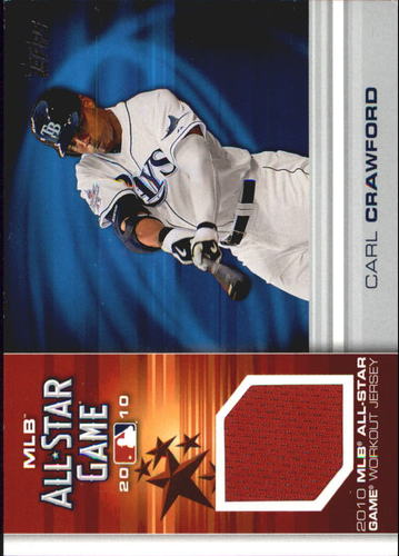 Photo of 2010 Topps Update All-Star Stitches #CC Carl Crawford