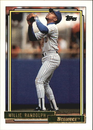 Photo of 1992 Topps Gold #116 Willie Randolph