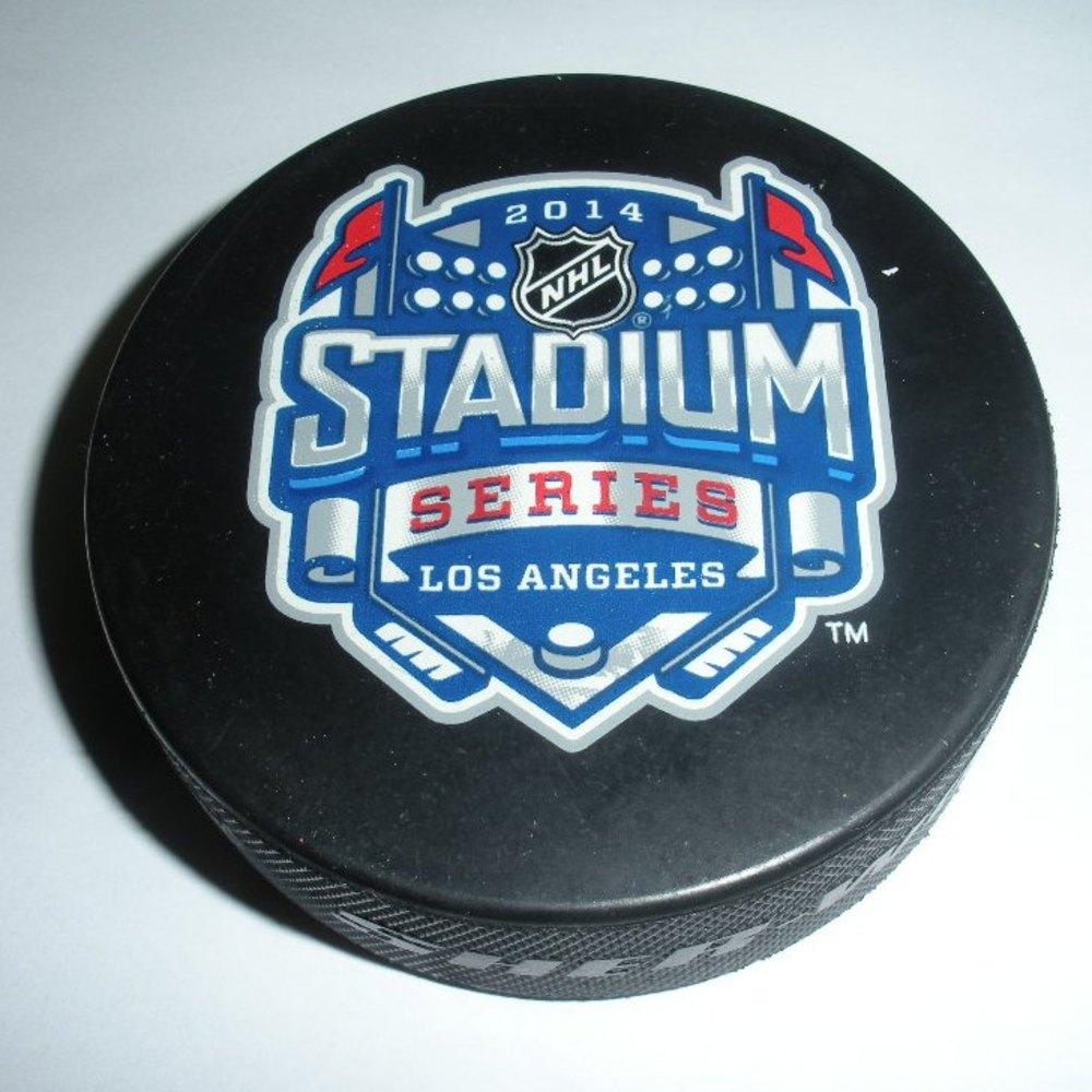 2014 Stadium Series - Anaheim Ducks - Pregame Warmup Puck - 1 of 10