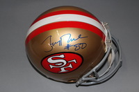 HOF - 49ERS JERRY RICE SIGNED 49ERS PROLINE HELMET