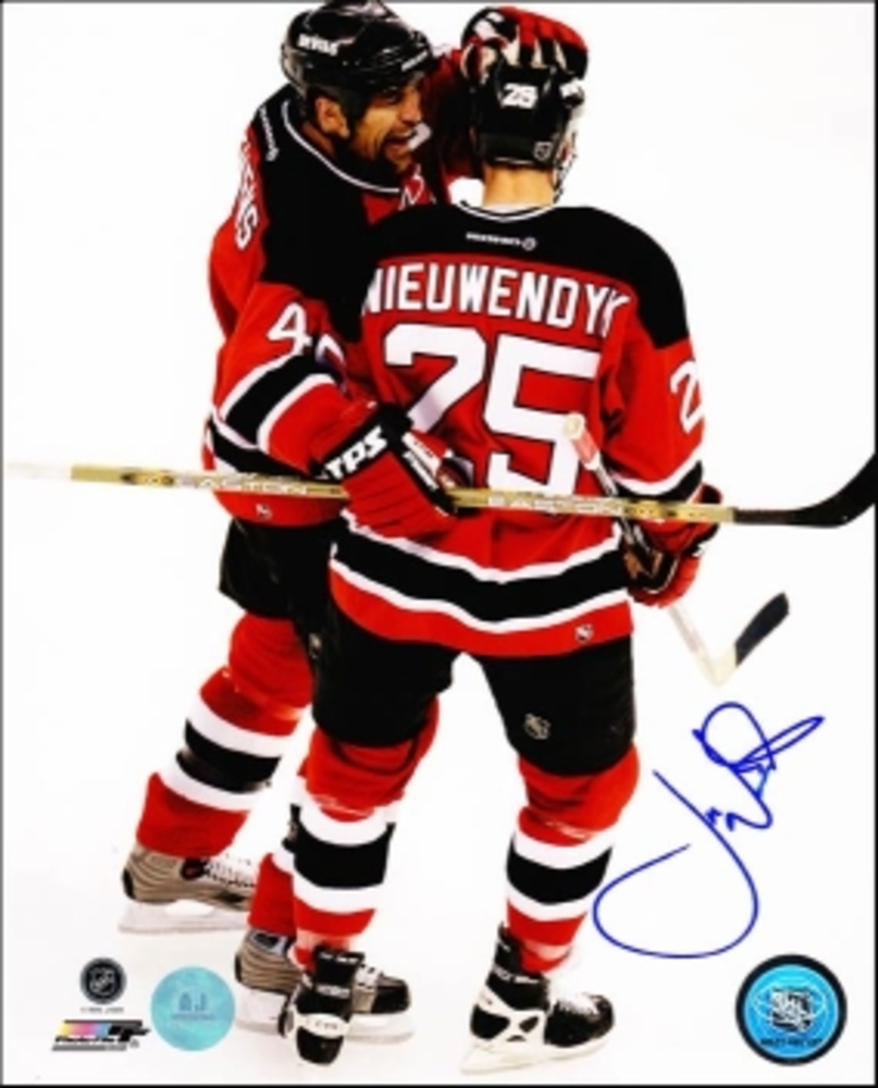 JOE NIEUWENDYK New Jersey Devils SIGNED 8x10 Photo