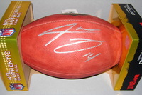 NFL - DOLPHINS JARVIS LANDRY SIGNED AUTHENTIC FOOTBALL