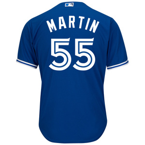 Toronto Blue Jays Big & Tall Russell Martin Cool Base Alternate Jersey by Majestic