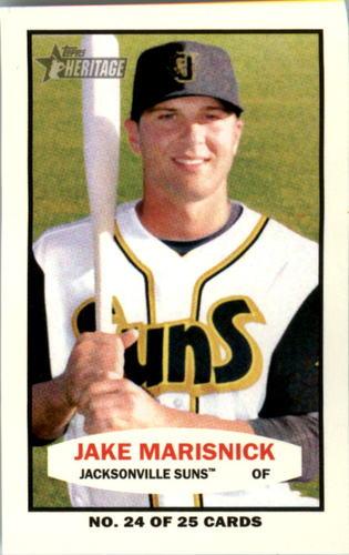 Photo of 2013 Topps Heritage Minors 1964 Bazooka #JM Jake Marisnick -- Astros post-season